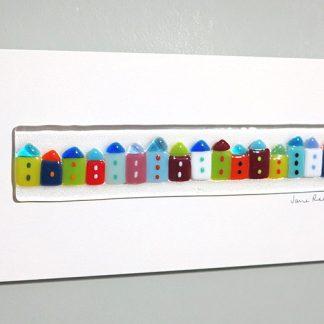 Medium Cottages 1 by Jane Reeves