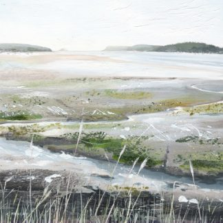 Camel Estuary at Low Tide card by Clare Henley