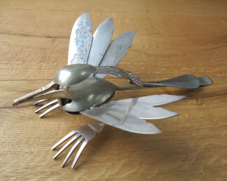 Cutlery Bird 10 by Barry Lewis