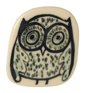 Owl Brooch by Karen Risby