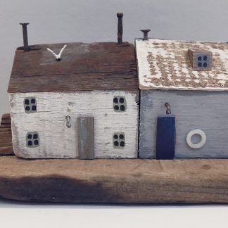 Fishermens' cottages by Kirsty Elson