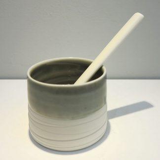 Louisa Taylor medium pot and spoon 04