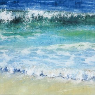 High Tide Porthmeor by Jane Reeves