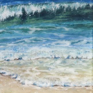 Sea Meets Sand by Jane Reeves