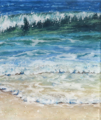 Sea Meets Sand by Jane Reeves