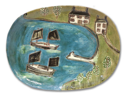 Platter by Anne Barrell