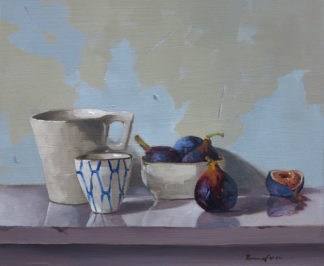 Figs and Pots by Penny German