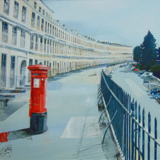 That Postbox, Royal You Crescent by Claire Henley