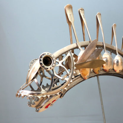 Bicycle Fish by Barry Lewis