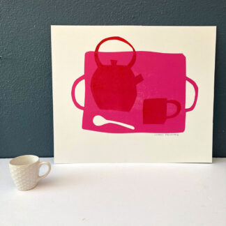 Tea Tray by Sophie Harding
