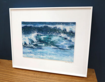 Fresh painted fused glass by Jane Reeves