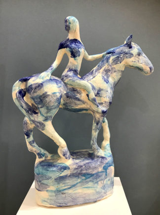 So Long ceramic sculpture by Sophie Howard