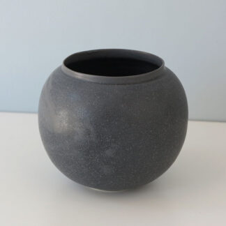 Dark Grey Moon Jar by Robyn Hardyman