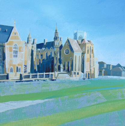 Clifton College by Claire Henley