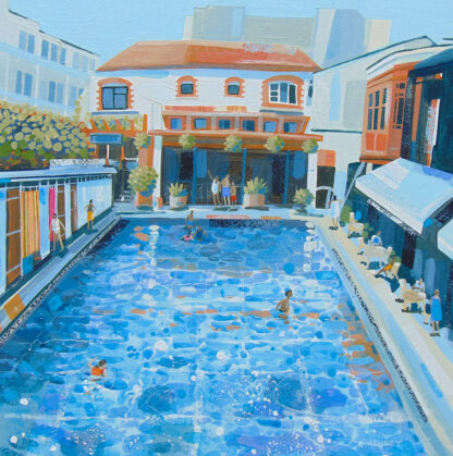 Clifton Lido by Claire Henley