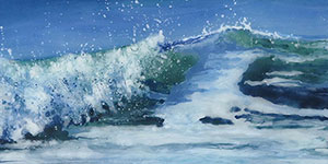 Fused Glass Seascapes by Jane Reeves