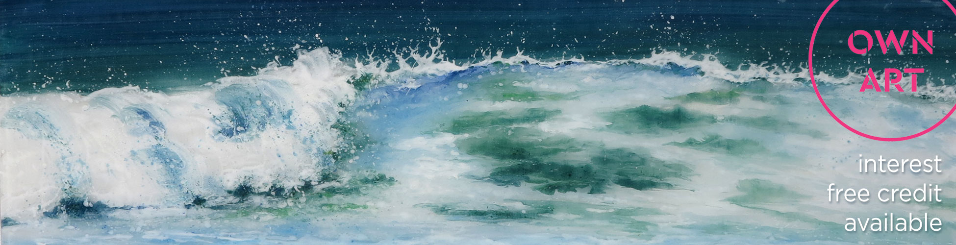 Seascapes by Jane Reeves in Portside Art Gallery Bristol
