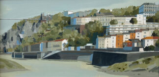 The CLifton Bridge from Cumberland Basin by Claire Henley
