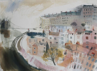 Autumn View of Clifton by Jane Askey