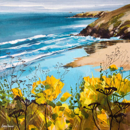 Gorse at Morgan Porth by Lucy Davies