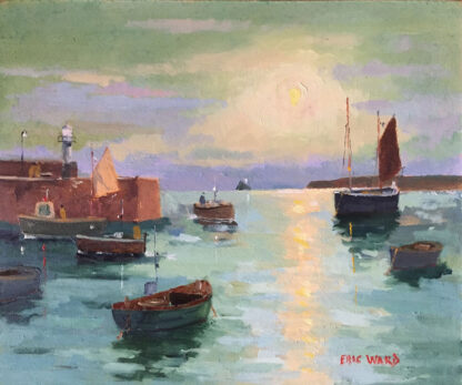 Evening Tide St Ives by Eric Ward